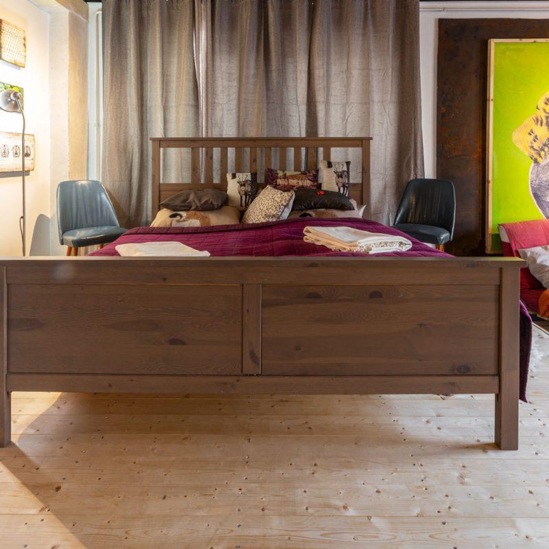 August der Starke – großes Doppelbett für erholsame Nächte.