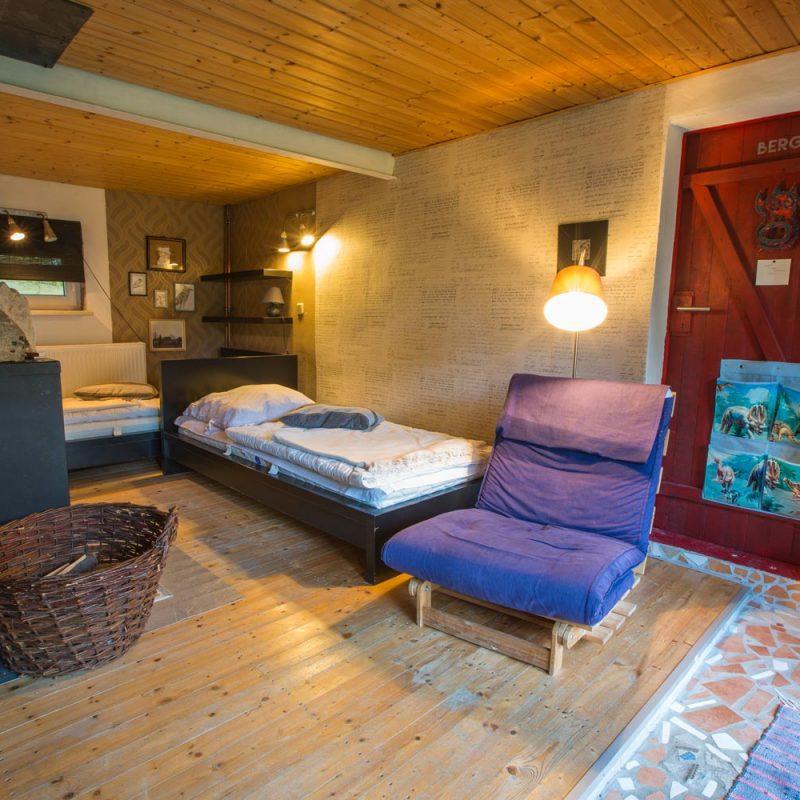 Kaminzimmer – entspannen im Wohnbereich.